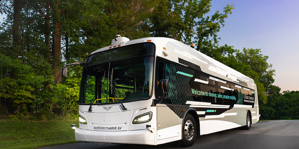 The Xcelsior AV™ furthers the FTA Strategic Transit Automation Research Plan to assess potential...