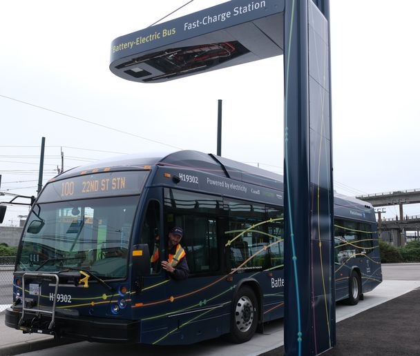 To pursue the further electrification of Metro Vancouver's bus fleet in the coming years, TransLink has applied for funding from senior levels of government for 57 more battery-electric buses and for the supporting charging station infrastructure. - TransLink