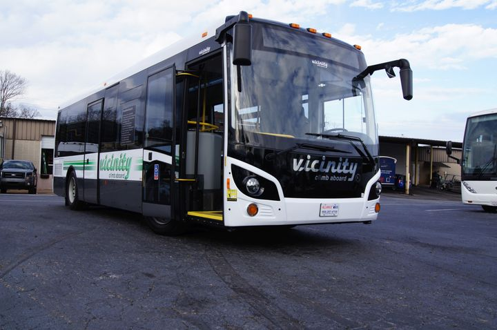 The company has started delivery of a large order of over 90 buses. - Vicinity