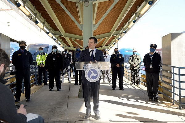 Buttigieg underscored that dependable public transit systems are critical for a robust and equitable economy recovery. - U.S. DOT