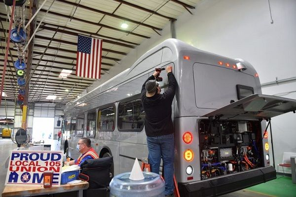 The one-yearpurchasing agreement is available to any transit agency in the state that is a recipient or sub-recipient of Federal Transit Administration funding, regardless of geographic location. - BYD