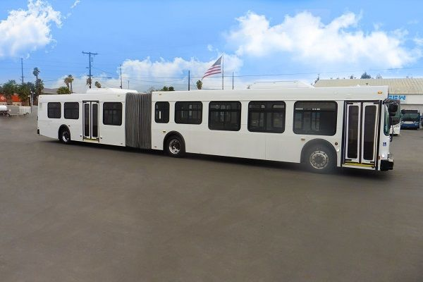 The 60-foot articulated vehicles will provide more space for riders and allow for greater social distancing amid the COVID-19 pandemic. - CCW
