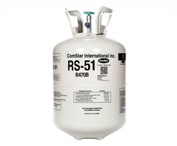 The company's RS-51(shown here) is a HFO blend with a Global Warming Potential of 717 and is zero ozone depleting. - ComStar International