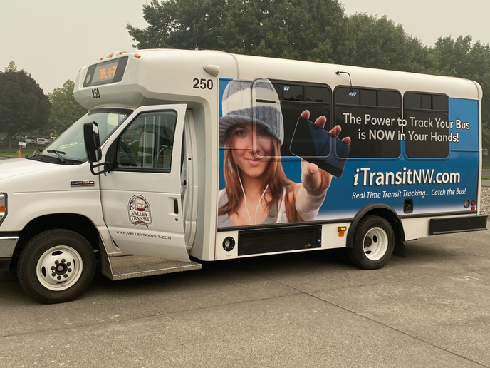 The initial system managed and supported seven partner agency fleets, with potential to scale and link up to 18 separate transport operators across Washington, Oregon, and Idaho. - Connexionz