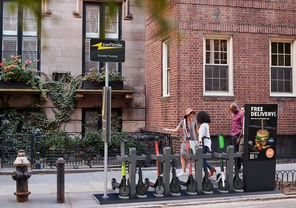 The partnership addresses immediate needs such as sidewalk safety and parking for micromobility, while creating an AV-ready future. - Swiftmile
