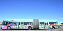 The city of Albuquerque's fleet currently has 41 CNG buses, but the new fueling station could service up to 101 CNG buses by 2032.