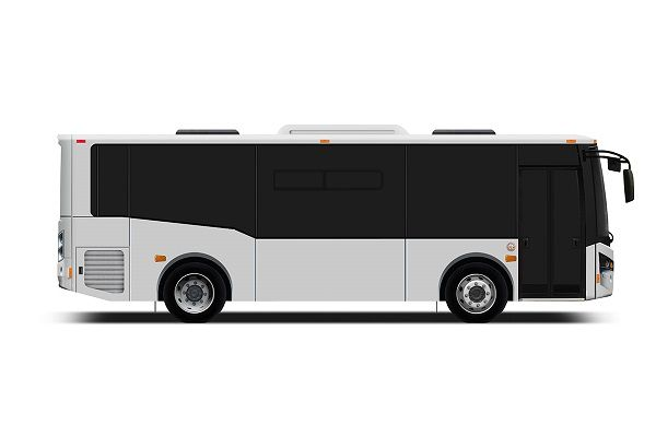 The name change reflects the company's increasing focus on next-generation electric bus commercialization efforts. Shown here is a design renderingof the Vicinity Lightning EV. - Rendering via Vicinity
