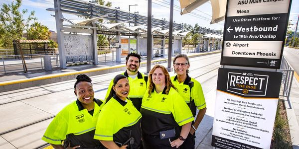 Transit workers are employed by Valley Metro, city of Phoenix, and a dozen contracted firms,...