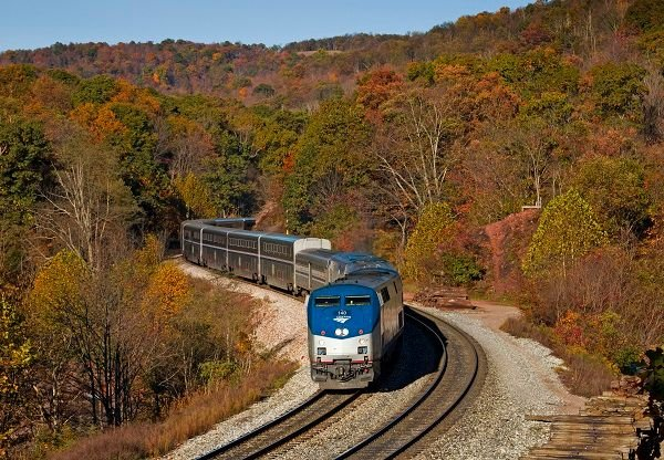 Amtrak's Capitol Limited is one of 12 long-distance routes that will resume daily service. - Amtrak/Chase Gunnoe