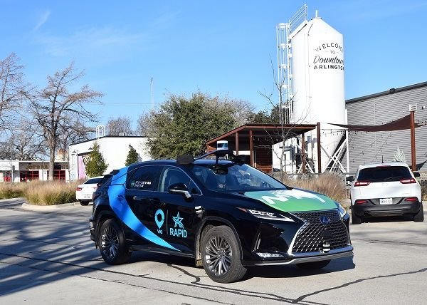 The goal of the Arlington RAPID project is to provide a blueprint for combining on-demand rideshare and AV technology for safe and accessible public transit. - Via