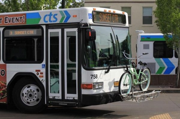 The city of Corvallis anticipates two new battery-electric buses will enter service in the summer of 2022. - City of Corvallis