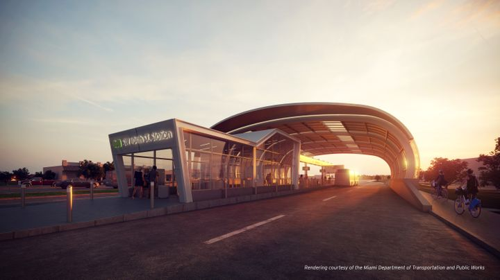 Rendering via Miami-Dade County Department of Transportation and Public Works -