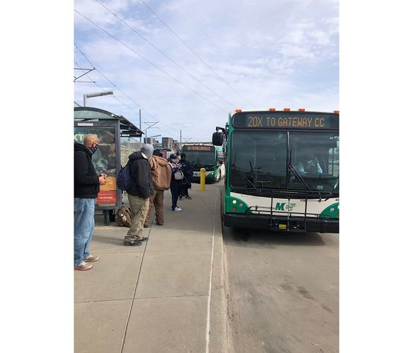Madison County Transit's (MCT) 20X Gateway Commerce Express serves passengers connecting to MCT from the Emerson Park MetroLink Station. The 20X has seen significant growth over the last 18 months and even during the pandemic. - MCT