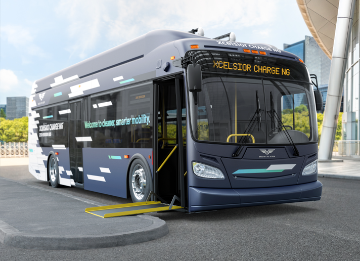New Flyer's Xcelsior CHARGE NG™ incorporates three distinct technology advancements to deliver a high-performance bus. - New Flyer