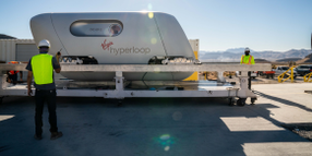 Virgin Hyperloop Vehicle to Make Debut This Fall
