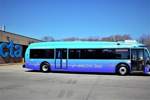 CTA made the decision to purchase additional electric vehicles after testing two electric buses in 2014. - CTA