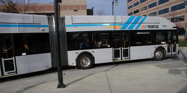 MARTA suspended 70 of its 110 bus routes last spring due to the COVID-19 pandemic and the need...