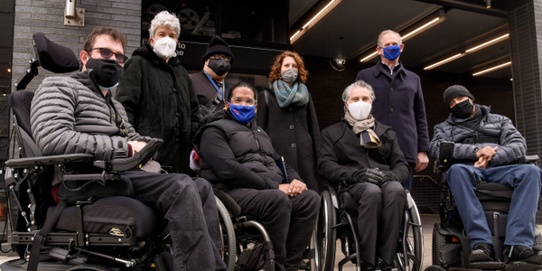 The MTA, NYC Department of City Planning, and Mayor's Office for People with Disabilities make...