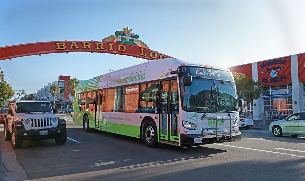In the FY 2022 Capital Improvement Program, MTS will allocate $27.7 million to purchase more electric buses and build charging infrastructure for its zero-emission bus transition plan. - MTS