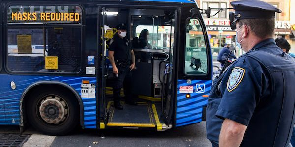 Federal Mask Requirement Extended for Public Transportation