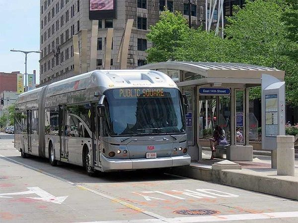After receiving nearly $315 million in federal stimulus money during the pandemic, the Greater Cleveland Regional Transit Authority is expecting no service layoffs, furloughs, or service reductions through 2026. - GCRTA Facebook