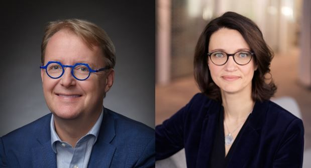 Clément Michel (left) and Annelise Avril (right) will both join Keolis Group's Executive Committee. - Keolis Group