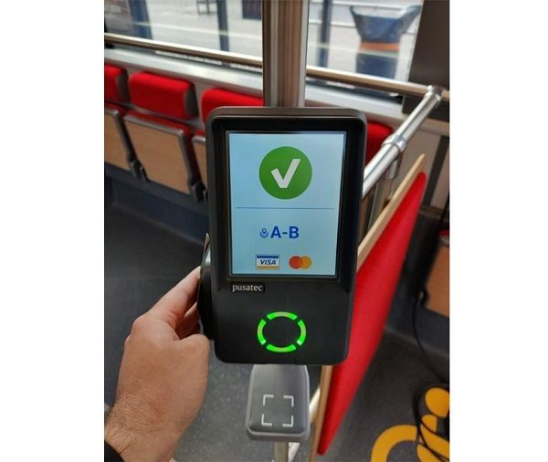 Tap-to-pay is now available on selected ferries and trams in Helsinki and on buses operated by Nysse in Tampere. - Littlepay