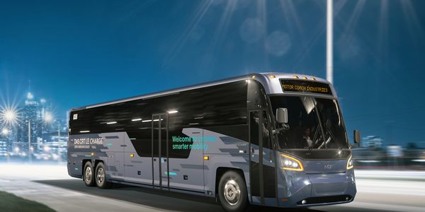 The fully-accessible MCI D45 CRT LE CHARGE™ is a high-performance electric coach leveraging...