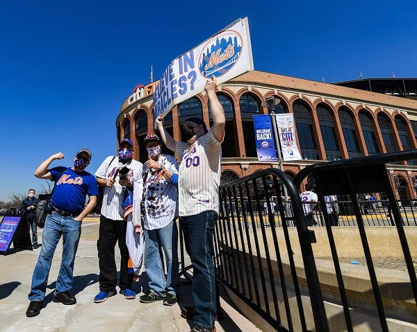 In terms of safety and frequency of game-day service (based on current COVID-19 restrictions), Citi Field informs the MTA of the maximum allowable attendance at games so the agency can set its service levels accordingly. - Marc A. Hermann / MTA New York City Transit