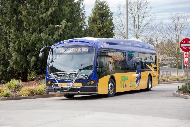 The report assumes the national fleet will require a mix of both battery-electric and fuel-cell electric vehicles to meet zero-emission transition targets. - Proterra