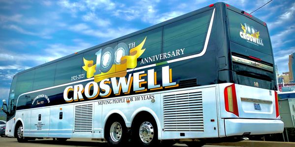 ABC has designed a special bus-wrap featuring Croswell's 100 Year Anniversary logo that will be...