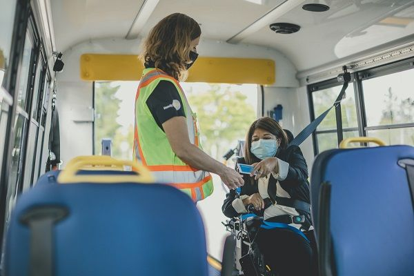 Compass smart cards will allow HandyDART customers to access benefits such as AutoLoad for automatic balance top-ups and gives customers the ability to protect their Compass card balance if it is lost or stolen. - TransLink