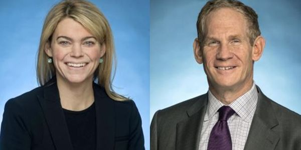 Sarah Feinberg (left) and John Lieber are expected to co-lead the agency.