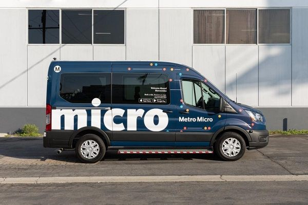 Metro Micro is an on-demand, shared ride service thatwas first launched in December in partnership with RideCoInc. - L.A. Metro