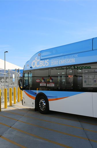 In fall 2020, the OCTA board approved a $10.4 million contract with New Flyer of America for the purchase of the 10 plug-in electric buses to begin a pilot program in late 2021. - OCTA