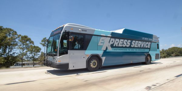 Buses using the shoulder will travel at a maximum speed of 35 mph and will never travel at a...