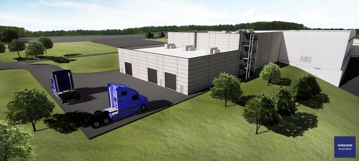 A rendering of Volvo's competed VPL expansion. - Volvo