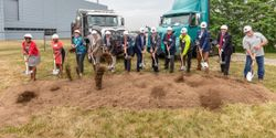 Volvo Group executives were joined by several Delegates of the Maryland State Assembly and...
