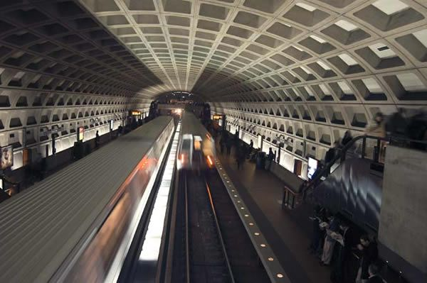 WMATA serves 91 rail stations and operates 1,500 buses, providing service to a population of approximately four million within a 1,500-square mile area in Washington, D.C., Maryland, and Virginia. - Larry Levine