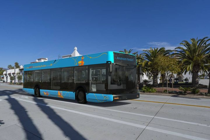Anaheim Arrival buses are sustainable commercial vehicles. - Photo: Arrival
