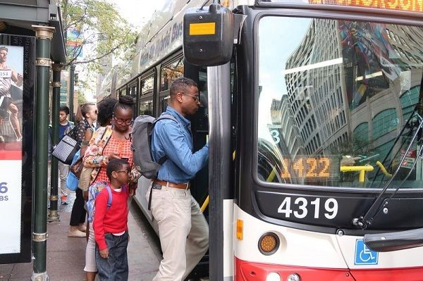 Ridership to and from the Chicago Loop has seen the biggest gains of any area of the city, as workers return to the office and downtown events and activities. - Active Transportation Alliance