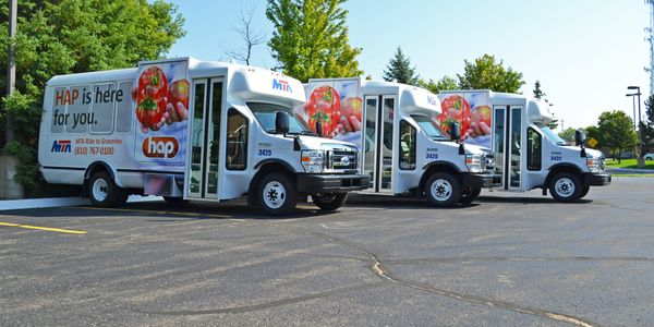 In Michigan, truck and bus fleets are getting $4,000 rebates per vehicle, up to $16,000 per...