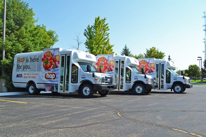 In Michigan, truck and bus fleets are getting $4,000 rebates per vehicle, up to $16,000 per business entity, when they buy a new propane vehicle or propane vehicle conversion. - Flint MTA