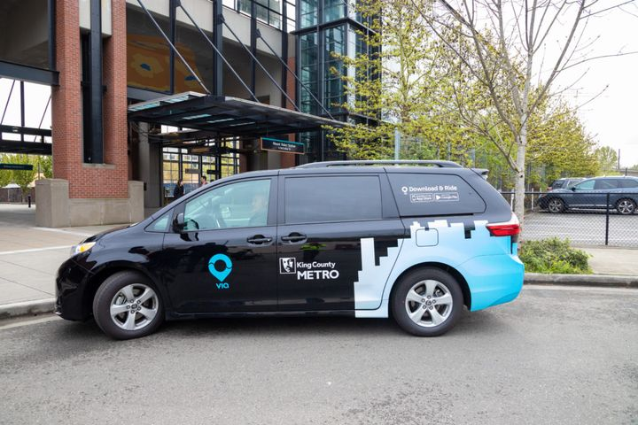 The service, originally launched in 2019 in collaboration with Via, has continued to expand access to affordable, efficient, and equitable transportation in King County. - Via