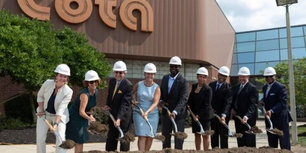 The renovation of COTA's McKinley Avenue facility is projected to be completed in June 2023.