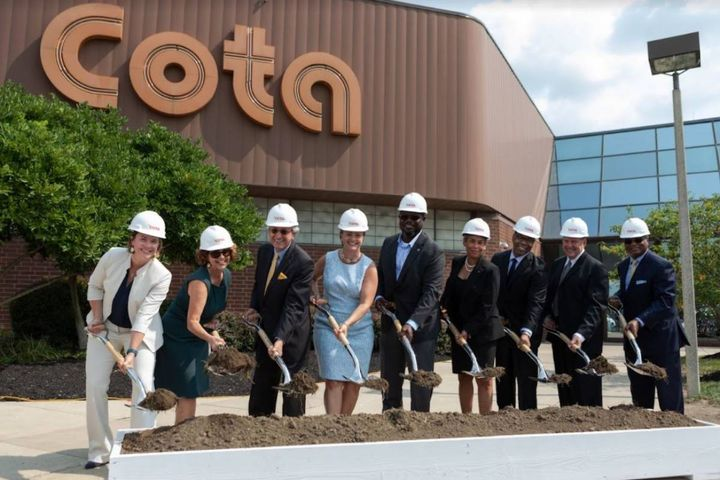 The renovation of COTA's McKinley Avenue facility is projected to be completed in June 2023. - Photo: COTA