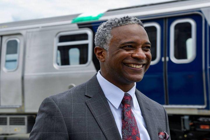 Demetrius Crichlow will serve as senior VP of NYCT's department of subways. - Photo:Marc A. Hermann/MTA