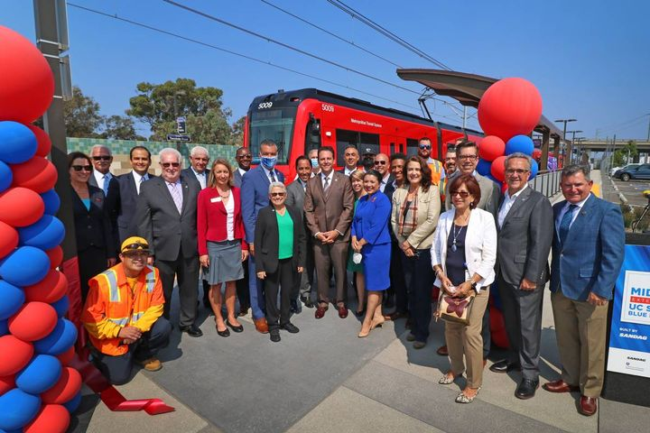 The public can ride on Saturday, August 28, between 10 a.m. and 1 p.m. - Photo: MTS