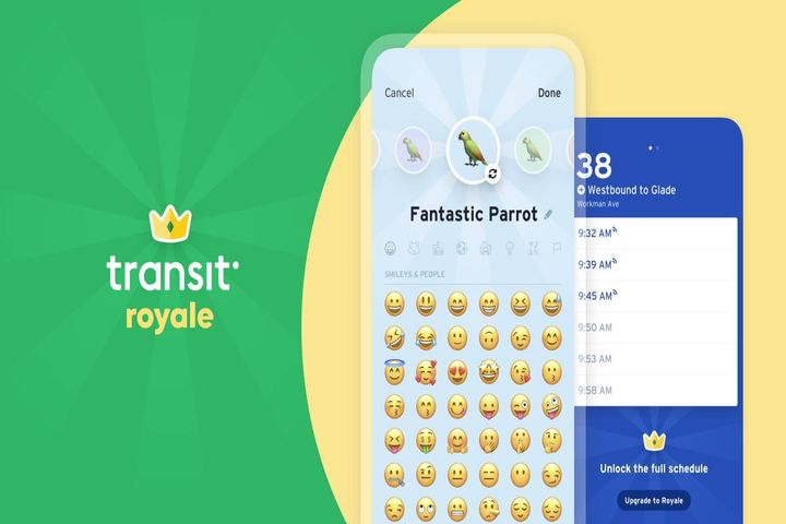 Riders who can't afford Royale can request a free subscription in the app. - Photo: Transit