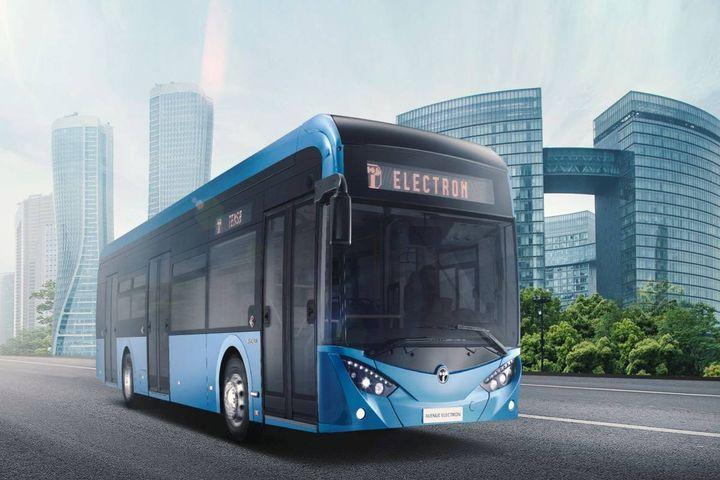 TEMSA is a coach, bus, and light truck manufacturer in Adana, Turkey. - Photo: TEMSA